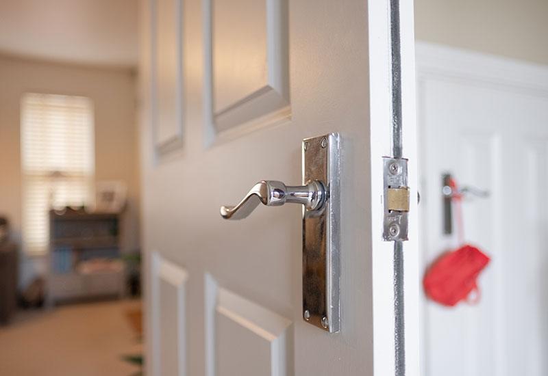 fire door in flat or house