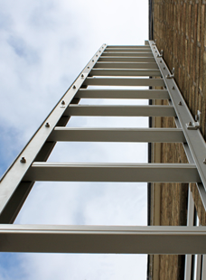 The Saffold fold-out ladder