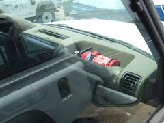 Extinguishers installed in Land Rover fleet'