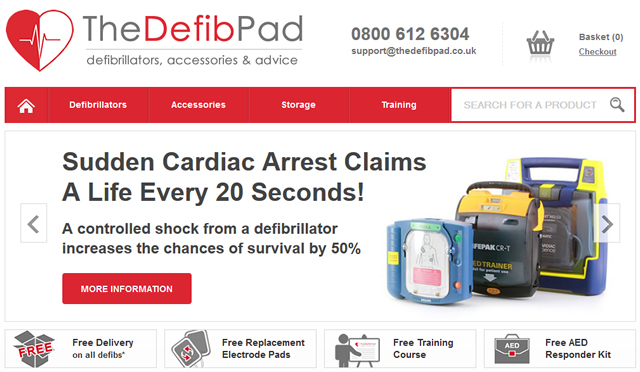 The Defib Pad Launched