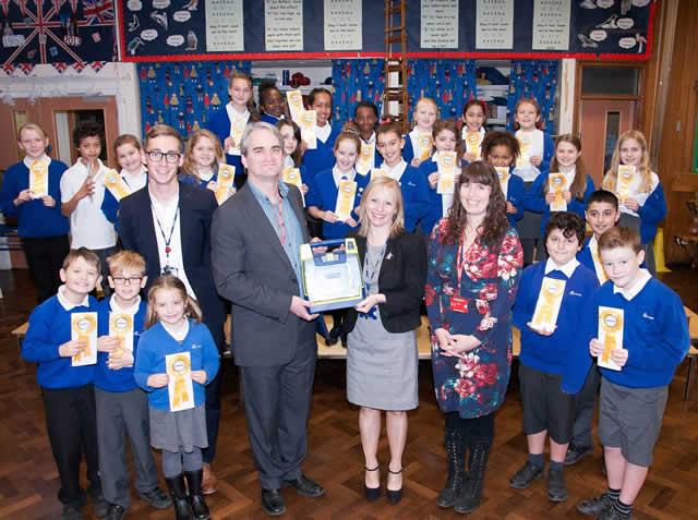 Ravensdale School Defibrillator Presentation