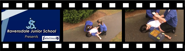 Ravensdale School Defibrillator Video