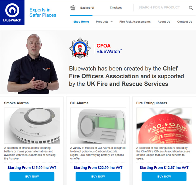 Bluewatch Website