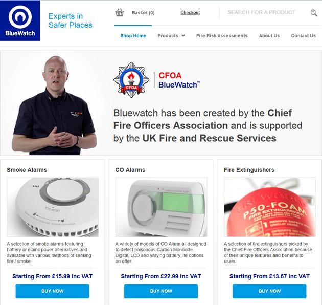 Bluewatch Website