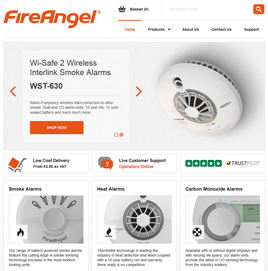 FireAngel Website