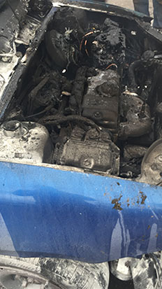 Fire in Lincolnshire Based Garage
