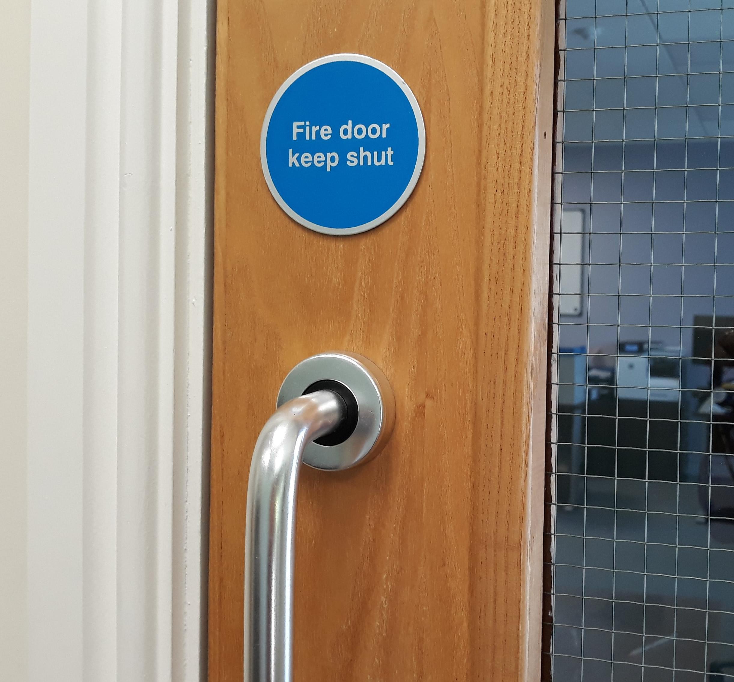 Gaps Underneath Fire Doors Safelincs Blog