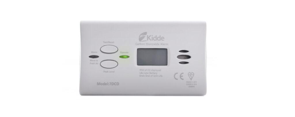 A suitable carbon monoxide alarm