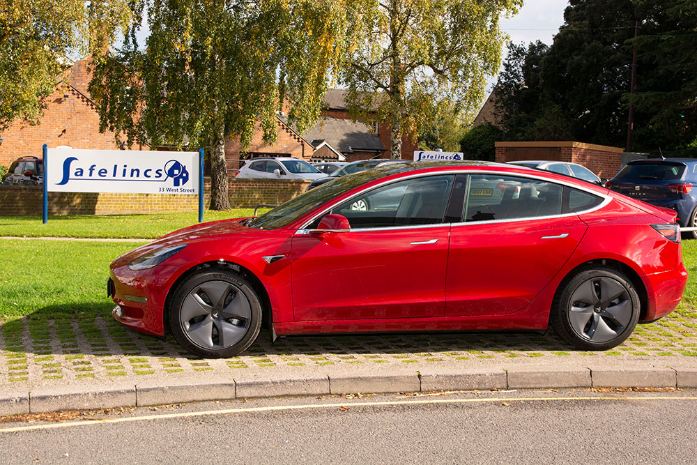 Our new Tesla-3, a fully electric company car