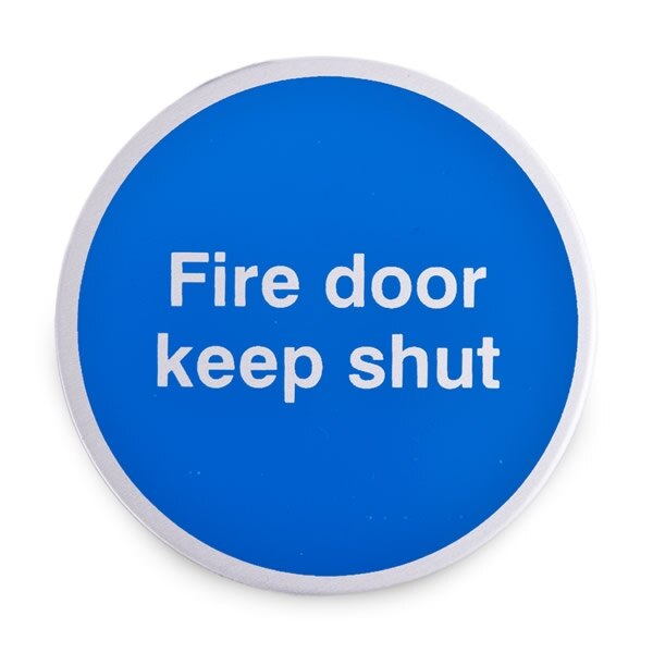 Example of Fire Door Keep Shut sign