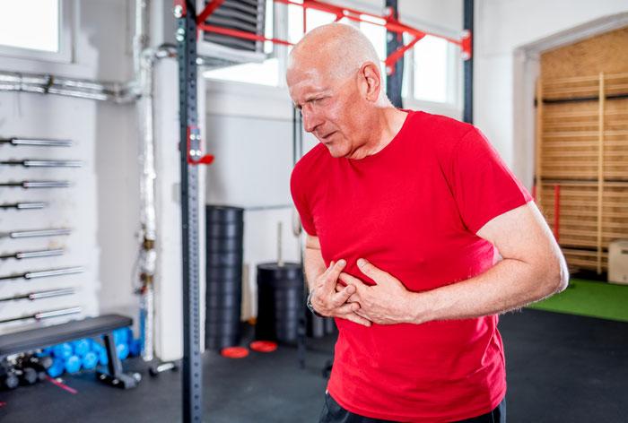 Cardiac arrest at the gym