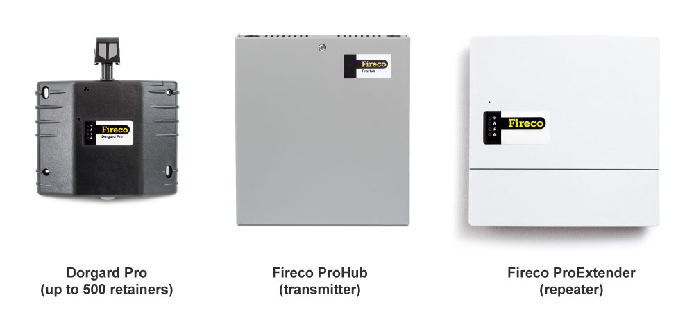 Dorgard Pro Fire Retainer System Components