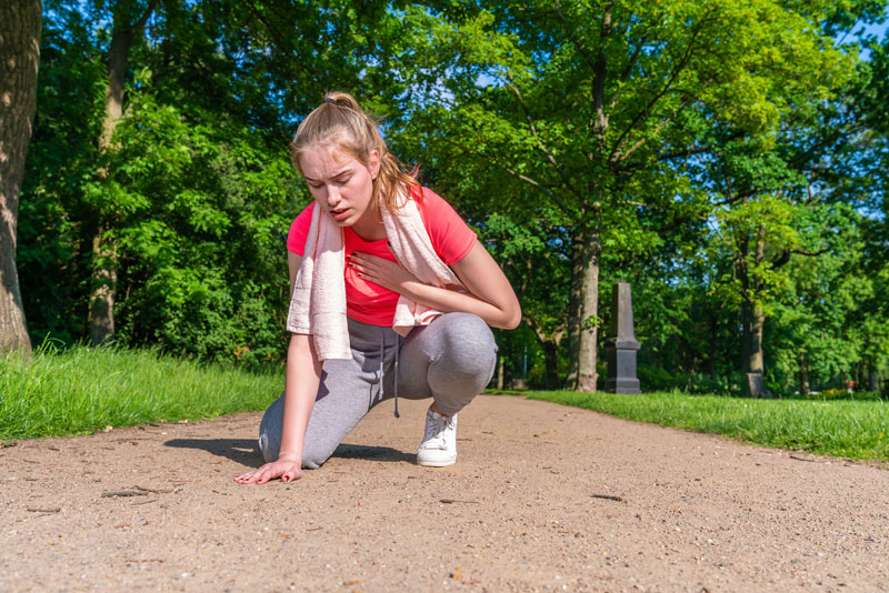 Young athlete cardiac arrest