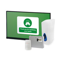 Promotes good hygiene and displays visual evidence of a return to work strategy
