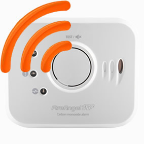 Image of the 10 Year Radio-Interlinked Carbon Monoxide Alarm