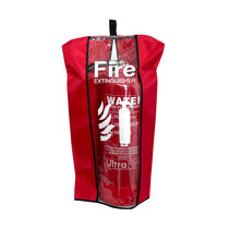 Large cover – shown protecting a 9ltr water extinguisher
