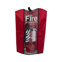 Medium cover – shown protecting a 2kg carbon dioxide extinguisher