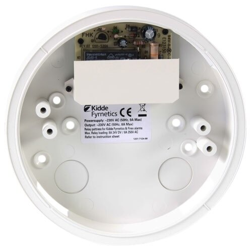 Kidde SMK23RU Pattress with Relay for Slick and Firex Alarms