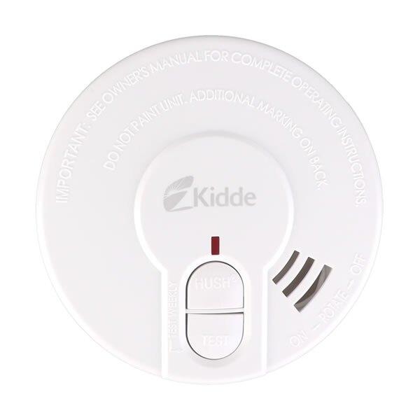 Kidde 29HD 9V Optical Smoke Alarm with Test and Hush