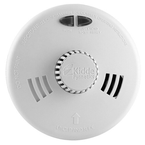 Mains Powered Heat Alarm - Kidde Slick 3SFW