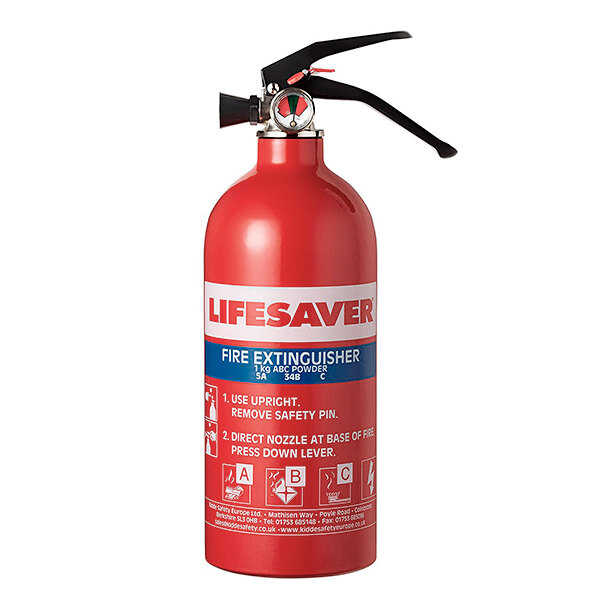 Image of the Kidde 1kg Multi-Purpose Fire Extinguisher