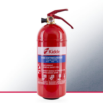 Image of the Kidde 2kg Multi-Purpose Fire Extinguisher