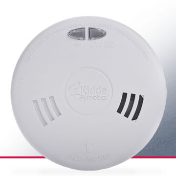 Image of the Mains Powered Optical Smoke Alarm with Back-up Battery - Kidde Slick 2SFW