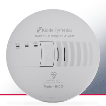 Image of the Mains Powered CO Alarm with Optional Digital Display - Kidde 4MCO