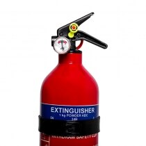 Powder extinguishers provide rapid fire knock down
