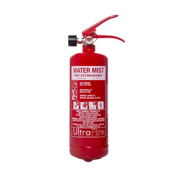 1ltr+ Water Mist Fire Extinguisher