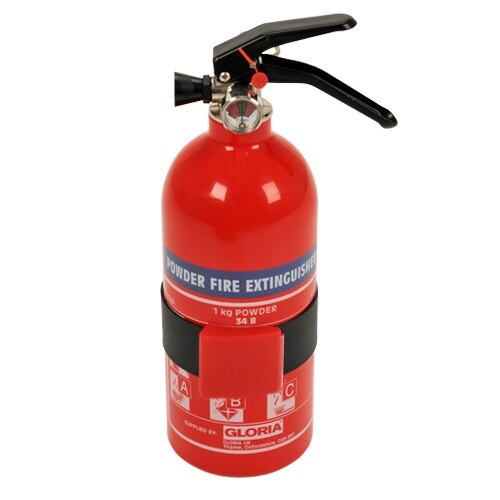1kg Powder Fire Extinguisher - Gloria PD1GA