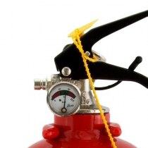 Safelincs 1kg Powder Fire Extinguisher - pressure gauge and handle