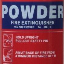 1kg Powder <br>Fire Extinguisher