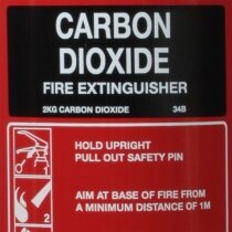 2kg CO2 <br />Fire Extinguisher