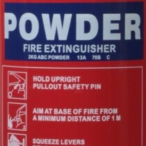 2kg Powder <br>Fire Extinguisher
