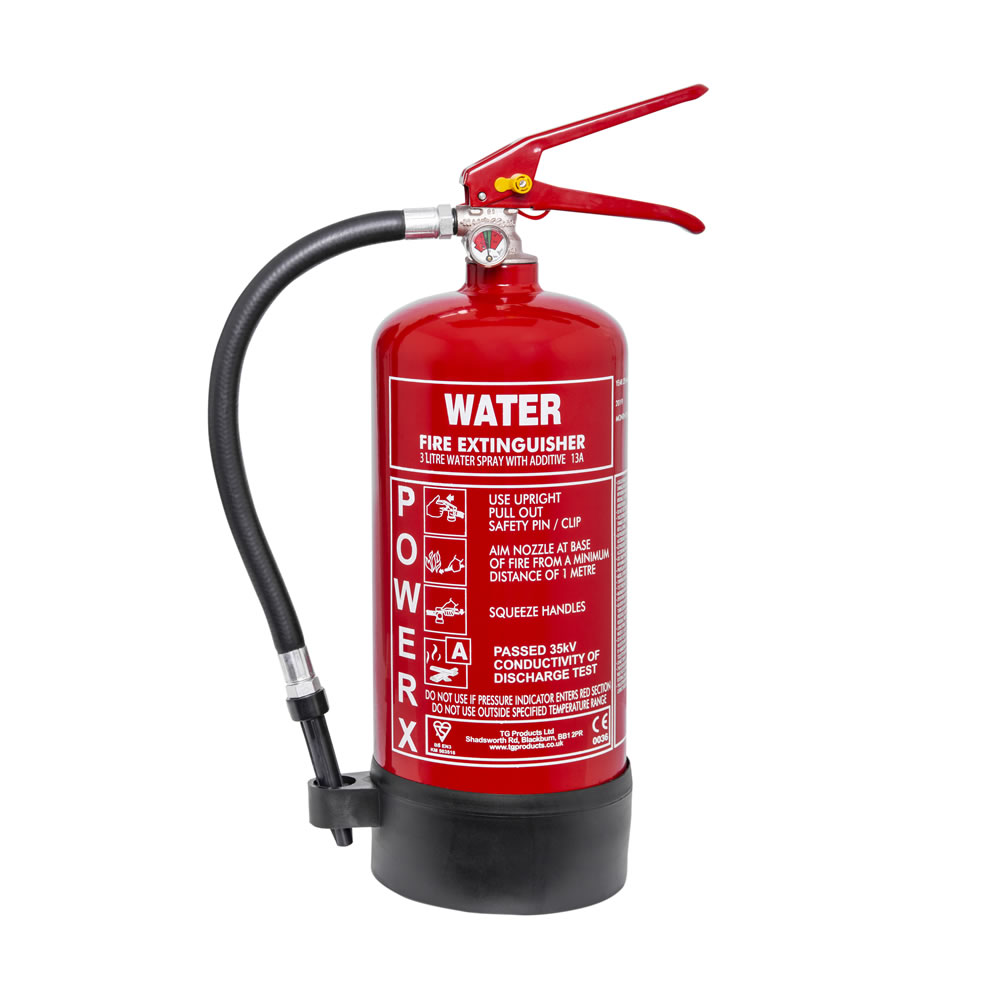 PowerX 3ltr Water Additive Fire Extinguisher