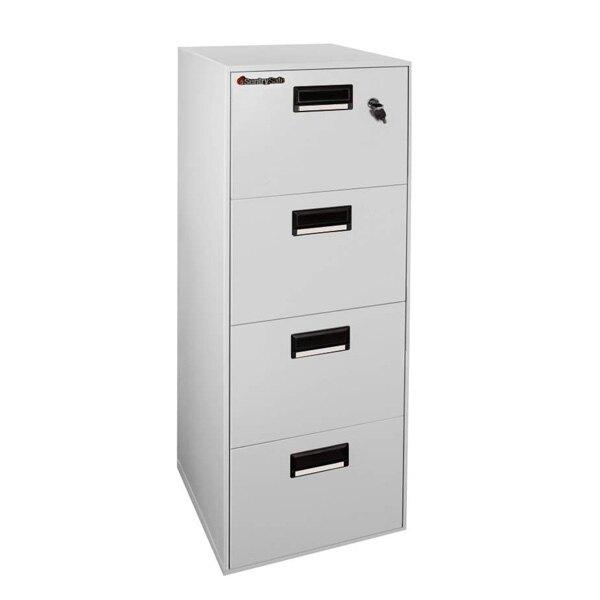 Sentry Fire-Safe File Filing Cabinet - 4 Drawer
