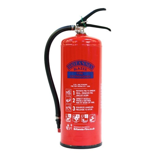 6kg Powder Fire Extinguisher - Britannia