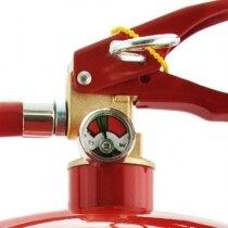 Safelincs 6 litre AFFF foam fire extinguisher head and pressure gauge