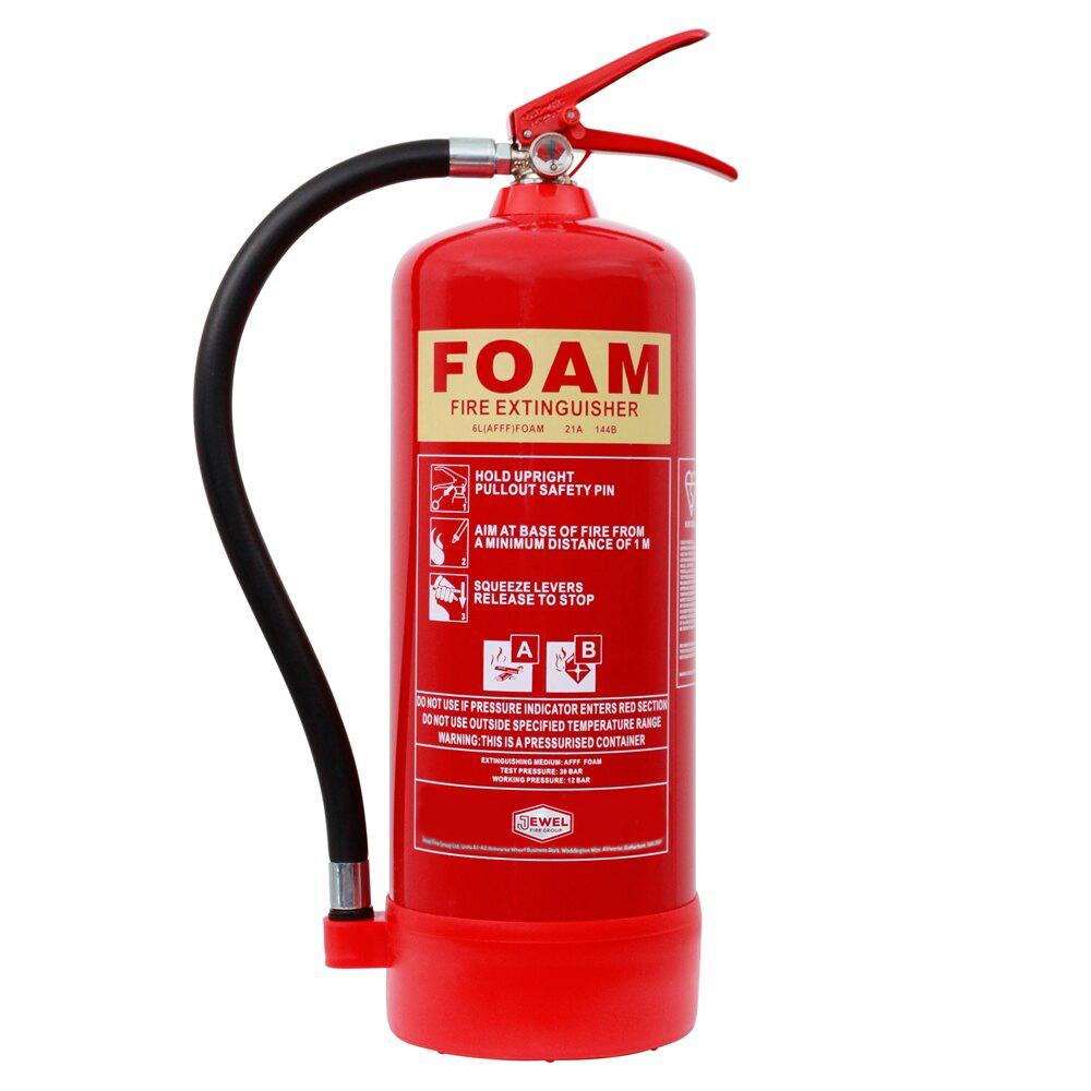 6ltr Foam Fire Extinguisher - Jewel Fire Group
