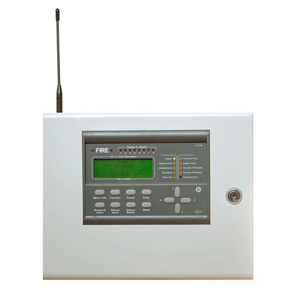 Zerio 8-Zone Wireless Panel