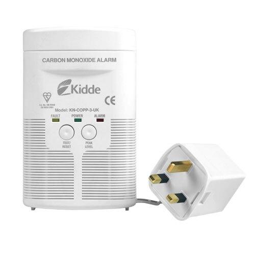 Mains Powered Carbon Monoxide Detector (with LED) Kidde 900-0191UK