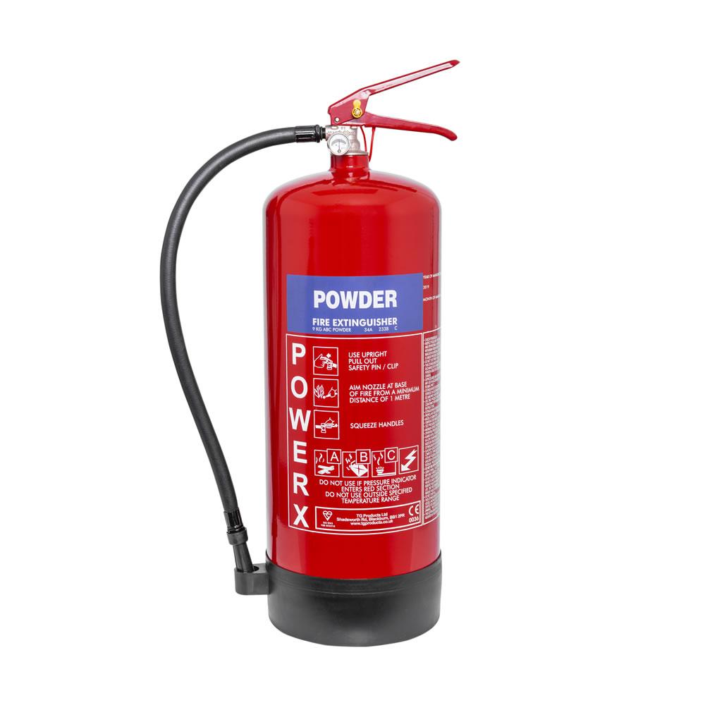 Thomas Glover PowerX 9kg Powder Extinguisher