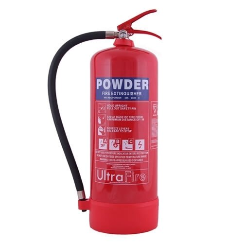 9kg Powder Fire Extinguisher - Ultrafire