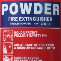 9kg Powder <br>Fire Extinguisher