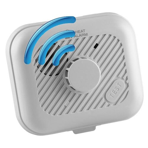 ei3103rf radio interlinked heat alarm. Black Bedroom Furniture Sets. Home Design Ideas