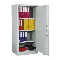 The Archive 325 cabinet is supplied with three shelves as standard