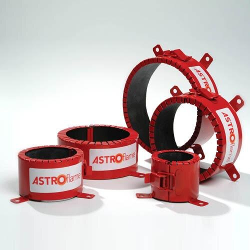 Astroflame 4hr intumescent pipe collars medium for 90mm soil pipe collar