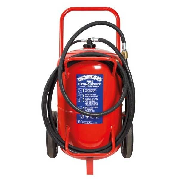 Britannia 100kg Wheeled ABC Powder Extinguisher