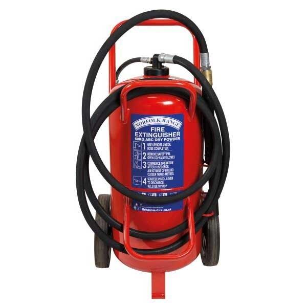 Britannia 60kg Wheeled ABC Powder Extinguisher